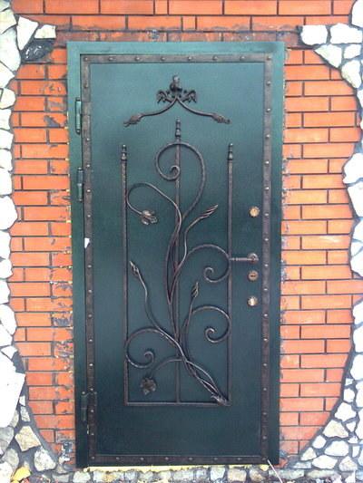 Двери кованные