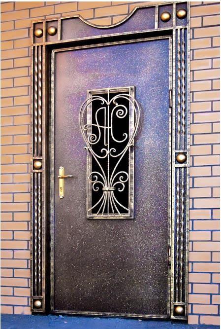 художественный металлическую дверь
